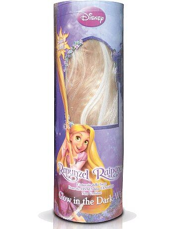 Perruque blonde `Raiponce`