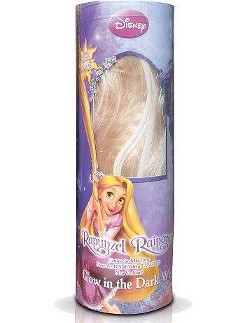 Perruque blonde 'Raiponce' - Kiabi