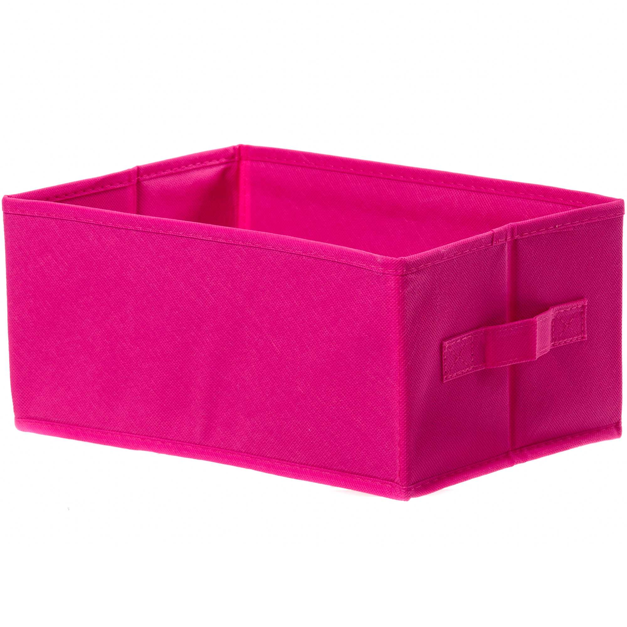 petit panier pliable linge de lit fuchsia kiabi 3 00. Black Bedroom Furniture Sets. Home Design Ideas