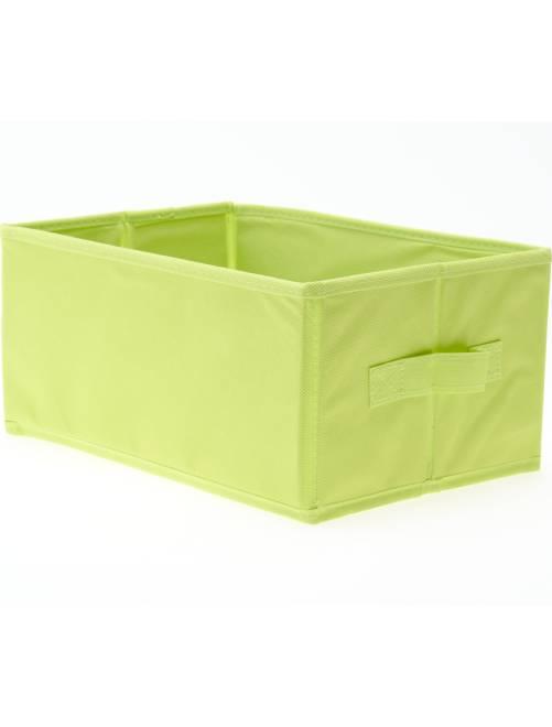 Petit panier pliable                                                                                                     vert anis Linge de lit