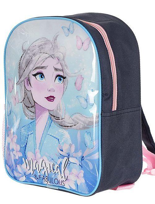 Petit sac à dos 'La Reine des Neiges'                             bleu