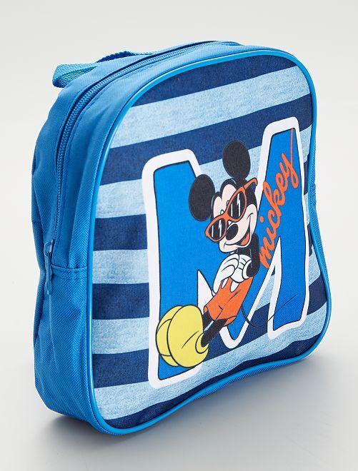 Petit sac à dos 'Mickey'                             bleu