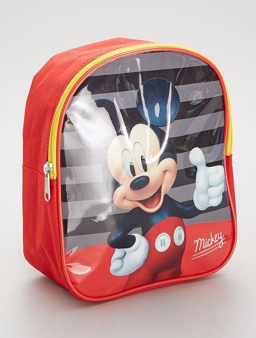 Petit sac à dos 'Mickey'                             rouge