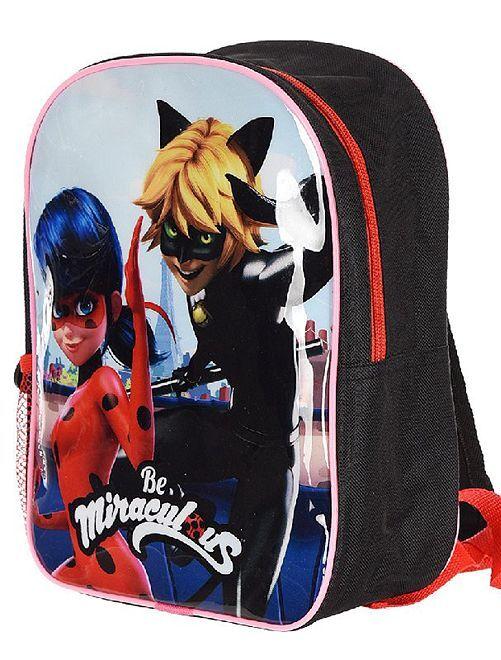 Petit sac à dos 'Miraculous'                             rouge/noir