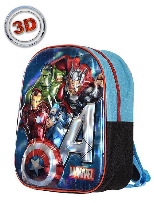 Petit sac à dos 'Spider-Man' relief                             bleu