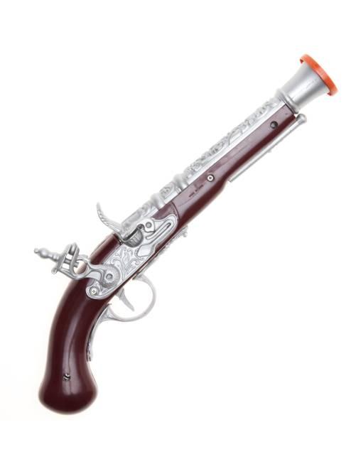 Pistolet de pirate                             marron/gris