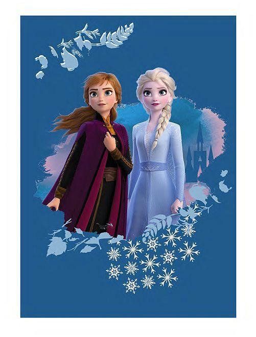 Plaid 'La Reine des neiges 2' 'Disney'                             bleu