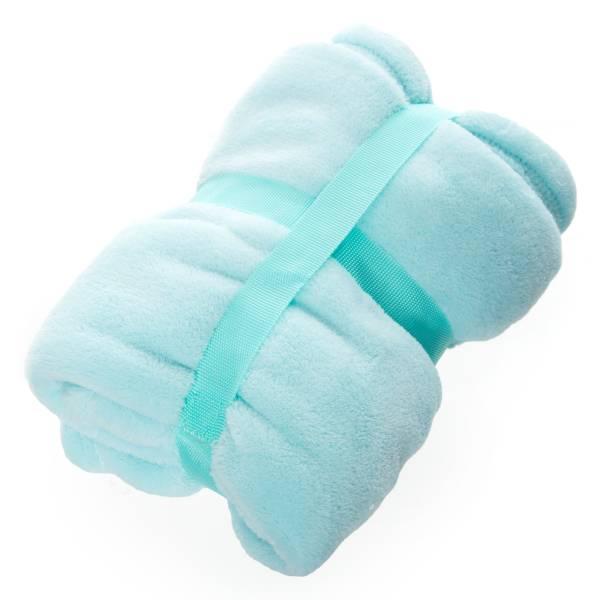 Plaid pour bébé en polaire Bébé fille - bleu