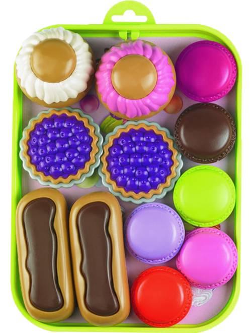 Plateau de pâtisserie                             multicolore