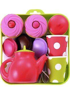 Fille 4-12 ans Plateau service à thé et cupcakes