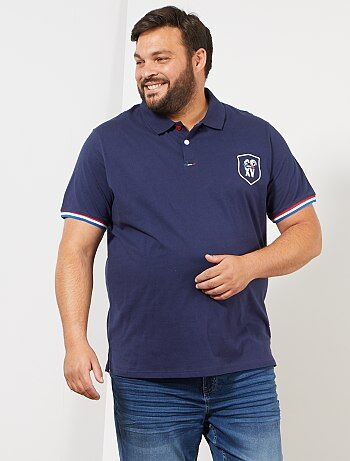 616f9021cff3f Grande taille homme - Polo Coupe du Monde de Rugby 2019 - Kiabi