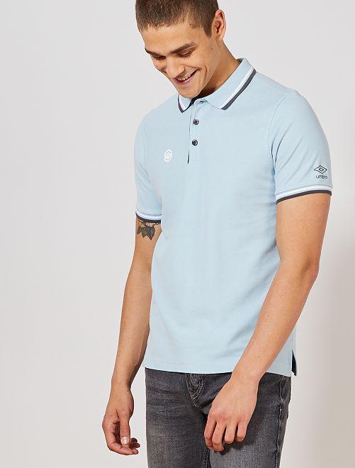 Polo de sport 'Umbro'                                                         bleu pâle Homme
