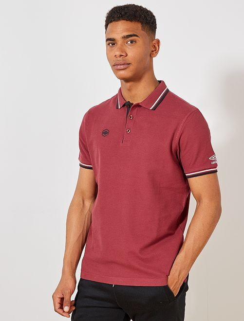 Polo de sport 'Umbro'                                             bordeaux