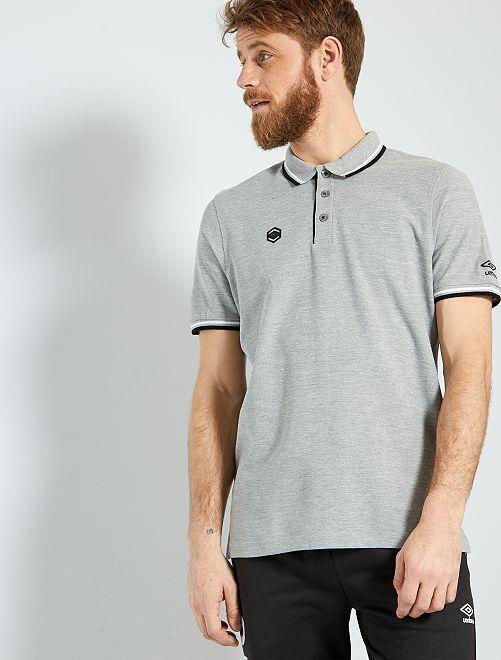 Polo de sport 'Umbro'                                         gris