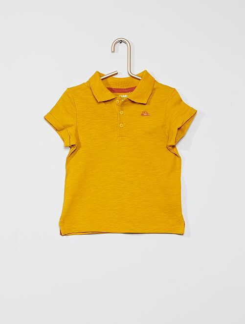 Polo 'éco-conception'                                                     jaune