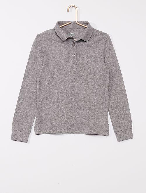 Polo éco-conçu                                                     gris