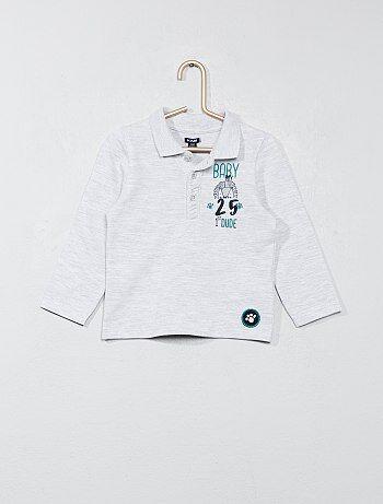 Garçon 0-36 mois - Polo en coton piqué - Kiabi