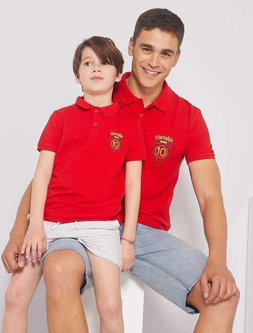 Polo 'Espagne' éco-conçu                                                     Espagne