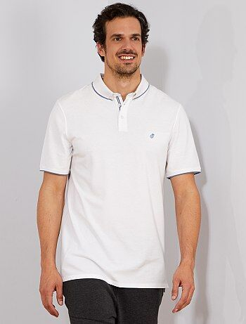 Polo regular broderie ananas +1m90