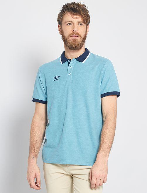 Polo 'Umbro'                                                     bleu vert