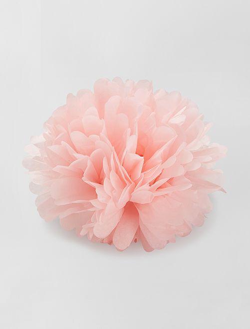Pompon en papier 40 cm                                                     ROSE