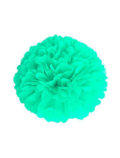 Pompon en papier 40 cm                                                     vert
