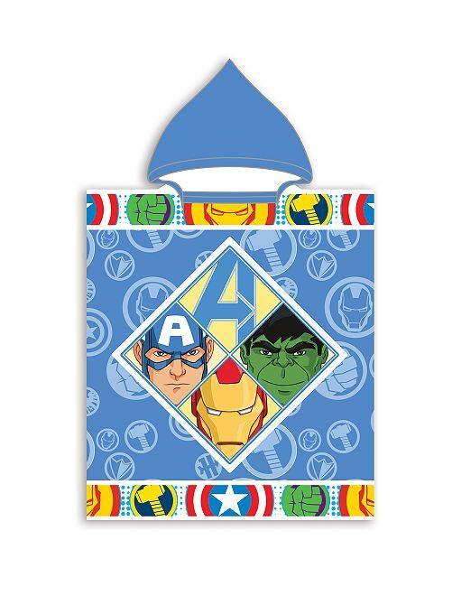Poncho de bain 'Avengers'                             bleu
