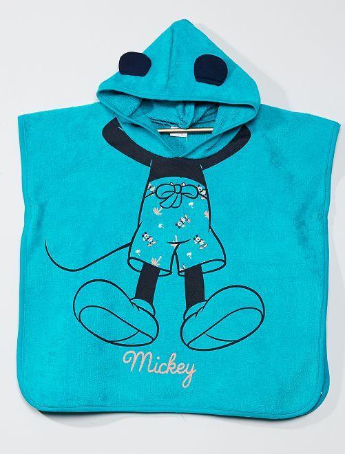 Poncho de bain 'Mickey'                             vert