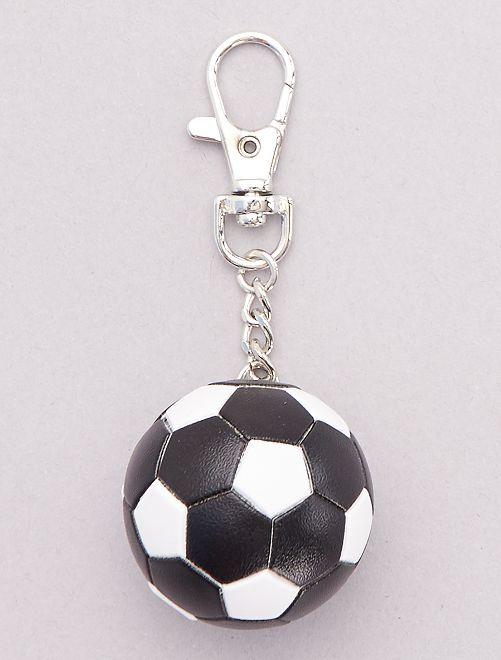 Porte-clé 'ballon de foot'                                         noir