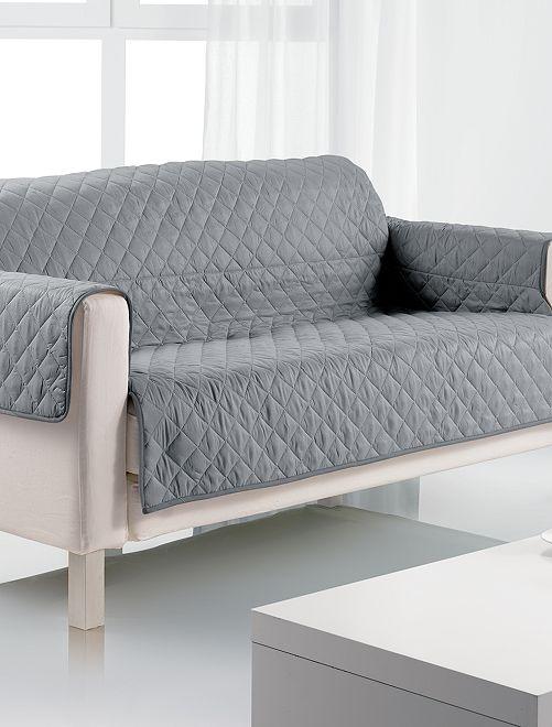 Protège canapé 2 places                                         gris