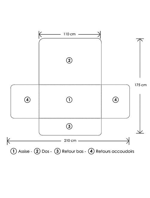 prot ge canap 2 places linge de lit beige kiabi 16 00. Black Bedroom Furniture Sets. Home Design Ideas