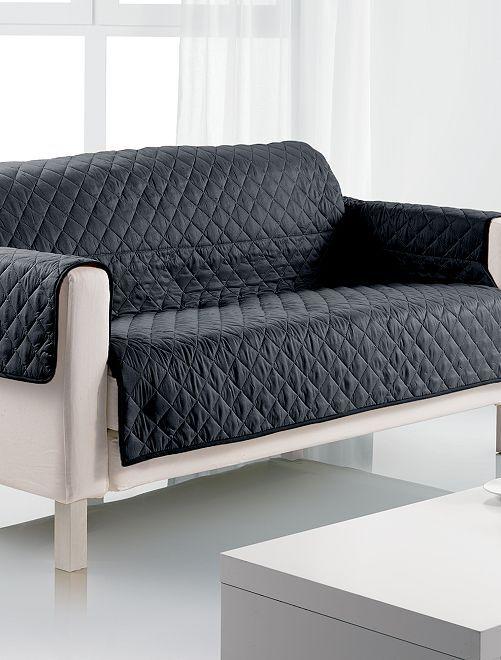 Protège canapé 2 places                                                     noir