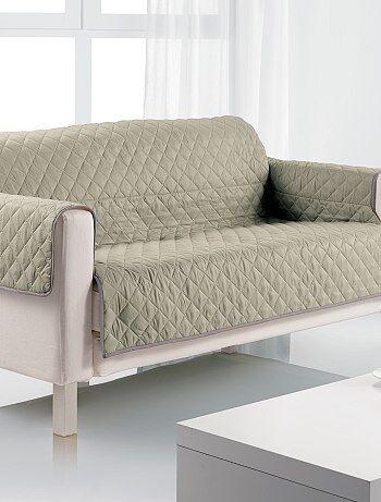 Protège canapé 3 places - Kiabi