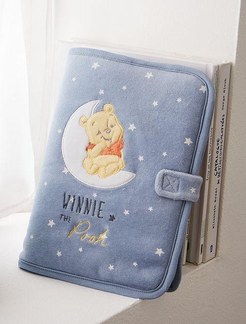 Protège carnet de santé 'Winnie'                             bleu