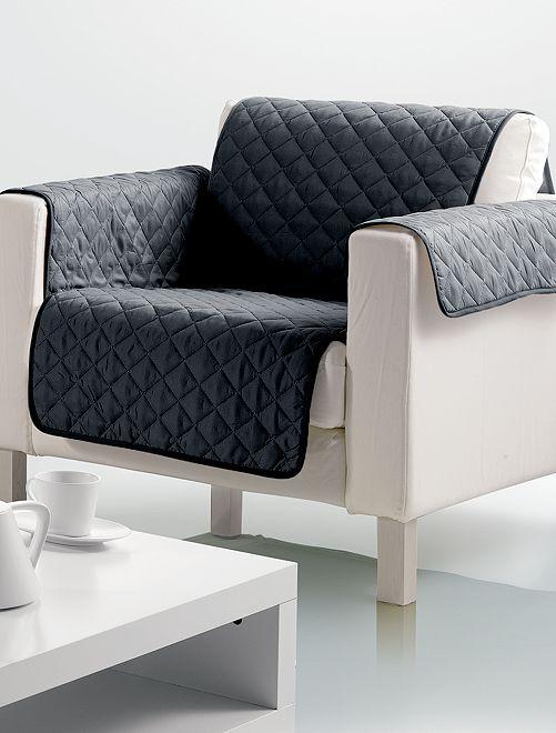 Protège fauteuil                                                                 noir Linge de lit