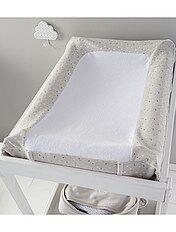 prot ge matelas amovible th me lapin. Black Bedroom Furniture Sets. Home Design Ideas