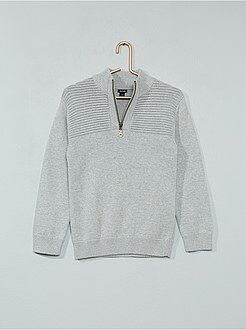 Pull, gilet - Pull col camionneur