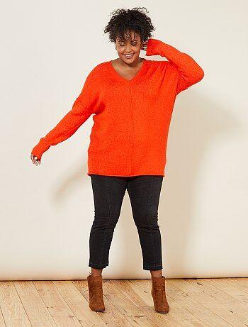 v tements grande taille femme robe jean pull veste kiabi. Black Bedroom Furniture Sets. Home Design Ideas