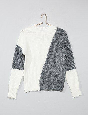 5f8d7ce7b8950 Soldes pull fille - pulls pour jeunes filles à la mode Vêtements ...