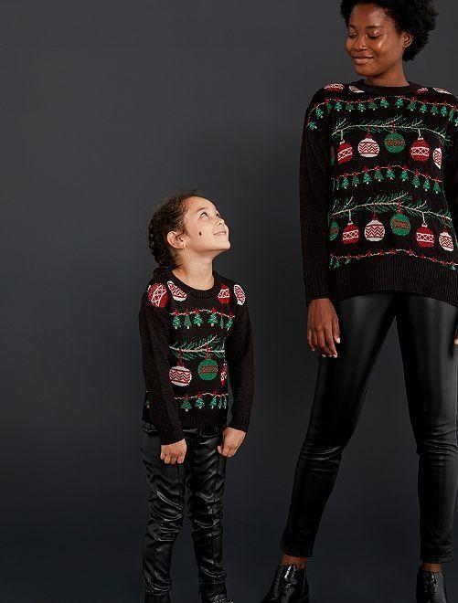 Pull de Noël                                                     noir