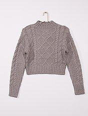 Manteau mi long Fille adolescente gris Kiabi 17,50€