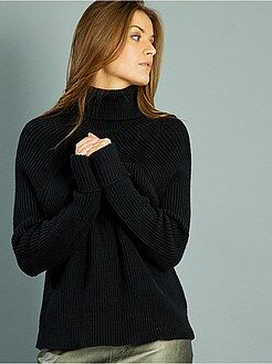 Pull femme col roulé pull original   Zebux 15f373468be4