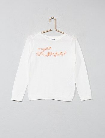 ed58a959b14a9 Soldes pull fille - gilets pour jeunes filles à la mode Vêtements ...
