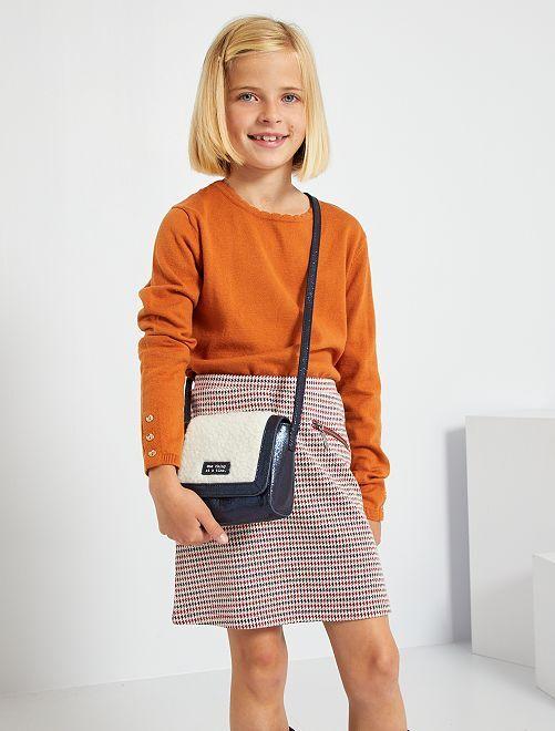 Pull fin en coton                                                                                                     orange