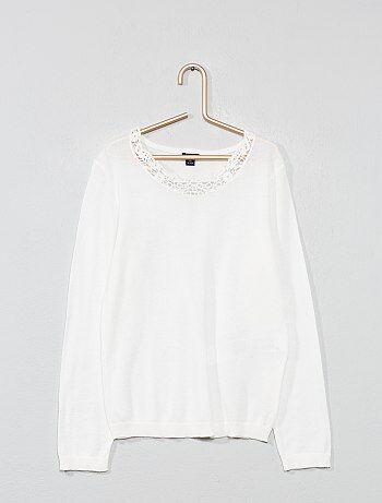 10593270fea19 Soldes pull fille - pulls pour jeunes filles à la mode Vêtements ...