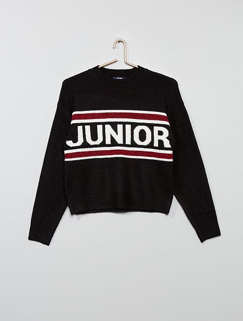 Pull 'Junior'                                         noir