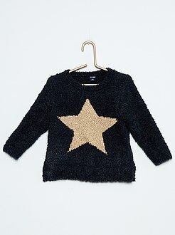 Fille 18 mois - 5 ans Pull maille chenille