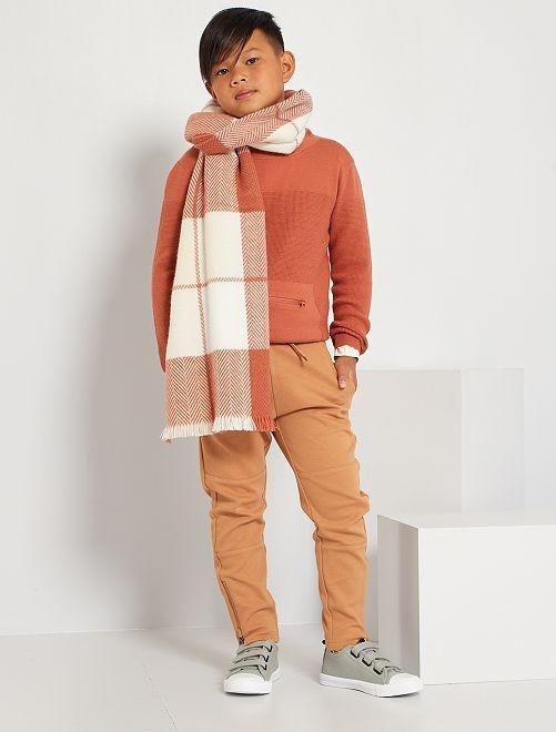 Pull poche kangourou                                         rouge