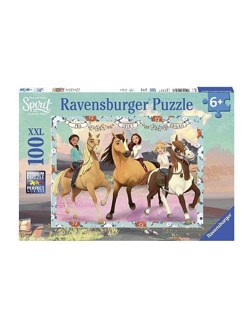 Puzzle 100 pcs 'Spirit: au galop en toute liberté'                             multicolore