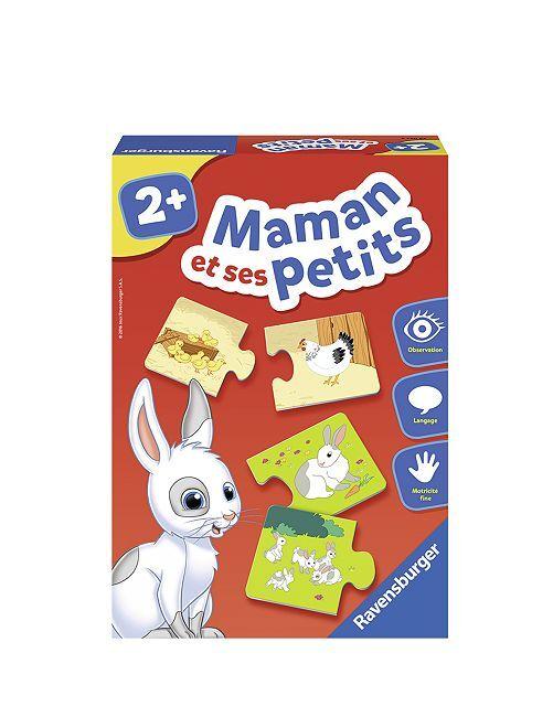 Puzzle 'Maman et ses petits' 'Ravensburger'                             rouge Bébé fille